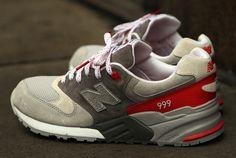New Balance 999 | Grey & Red