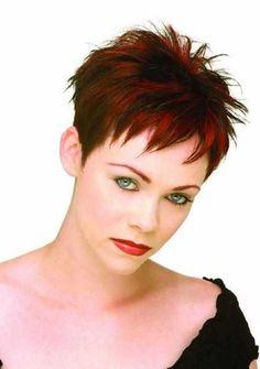 Hottest Spiky Pixie Hairstyle Ideas – Haircuts and hairstyles for 2017 hair colors trends for long short and medium hair