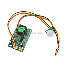 DC12V PIR IR Pyroelectric Infrared Module Adjust Relay Output Human Body Sensor #S018Y# High Quality #Affiliate