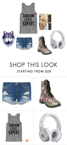 """""""Summer outfit"""" by juliodauntless on Polyvore featuring rag & bone, Beats by Dr. Dre, women's clothing, women, female, woman, misses and juniors"""