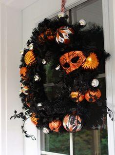 Pier 1 Imports Halloween Wreath | Sweetopia