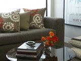 Plaza Towers Condo Renovation - modern - living room - atlanta - by Niki Papadopoulos