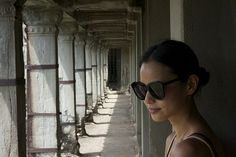 Actress Jamie Chung soaks up the sun at Temple Angkor Wat during her trip to Cambodia. Click thru for her 3-part travel diary.
