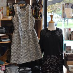 Comfortable stylish and easy to wear... what a great combination.  Let us help you solve your dress dilemma!  We are head over heels for these formal (but not too stuffy) outfit options.  #favoritefinds #figureflattering #collegeclothes #thechildrenshourslc    The Children's Hour Bookstore & Boutique    Clothing  Gifts  Toys  Shoes    898 South 900 East    Salt Lake City Utah    801.359.4150    childrenshourbookstore.com