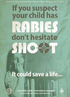 Rabies! Scarfolk Council | via Image Hoarder