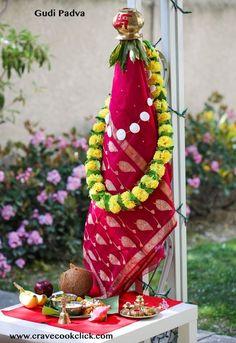 Vangi Bhat, Basundi and Vatana Batata Bhaji Recipe-Gudi Padwa Special Gudi Padwa Rangoli, Indian Rangoli, Flower Rangoli, Good Morning Beautiful Pictures, Beautiful Flowers Pictures, Ganesh Images, Ganesha Pictures, Happy Gudi Padwa Images, Ram Image