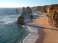 The 12 Apostles, Australia... Been there, at sunrise nonetheless! :)