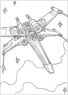 coloring page Star Wars on Kids-n-Fun. Coloring pages of Star Wars on Kids-n-Fun. More than coloring pages. At Kids-n-Fun you will always find the nicest coloring pages first! Coloring Pages To Print, Free Printable Coloring Pages, Coloring Book Pages, Coloring For Kids, Coloring Sheets, Star Wars Quilt, Desenho Do Star Wars, Star Wars Coloring Book, Star Wars Zeichnungen