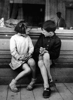 Brassaï #photography #kids  That coincedence when you were just researching him for a school project...