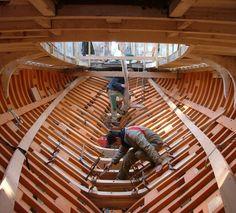 construction navale bois - chantier stagnol