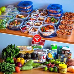 And finally! My weekly $75 meal prep challenge is complete! I spent this weekend and today planning, buying, cooking and filming my entire adventure (even at the grocery store). My goal was to create an epic meal prep video using $75 as my grocery budget. 5 meals a day for 5 days! I'm pretty excited to share this with you all - look for it later this week on YouTube and a full walkthrough write-up on @Bodybuilding.com.  Oh, and apologies for not being able to post a video tonight - I'd fire…