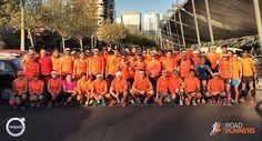 Como parte de nuestra preparación hoy tuvimos Control de 14k y 21k. Felicitaciones a todos los #Runners y #Triatletas que participaron. #VolvoChile #RoadRunnersChile @volvocarscl