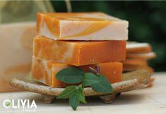 Shea-vajas kecsketejes szappan / Shea butter goat milk soap