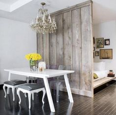 20 Practical Room Divider Ideas Interiorforlife.com A room divider can create privacy in a small space or de?ne new areas in a large open space