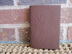 Brown Leather Bound Italian Long Stitch Journal/Book. Blank Inside Pages. on Etsy, $30.00