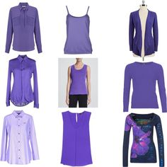 Soft to Clear Purple by christinems on Polyvore featuring Mode, Dsquared2, Misook Collection, Eileen Fisher, Ralph Lauren Black Label, Desigual, Betty Barclay, TIBI, John Lewis and Kangra Cashmere