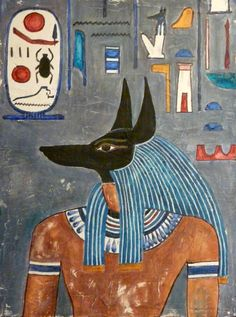 Anubis from the tomb of Horemheb Grand Egyptian Museum Ancient Egypt Religion, Ancient Egypt History, Ancient Art, Egyptian Mythology, Egyptian Art, Papyrus, Kairo, Archaeology, Aliens