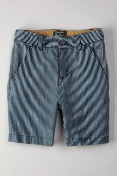 Railroad Stripe Short