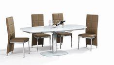 Τραπεζαρία Dream | Dining table Dream #home #homedecor #interiordesign #furniture #diningroomideas #diningroom  #table #glass #metal #industrialdesign