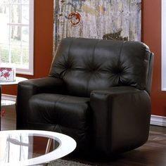Palliser Furniture Mystique Swivel Rocker Recliner Upholstery: All Leather Protected  - Tulsa II Bisque, Leather Type: Leather/PVC Match - Tulsa II...