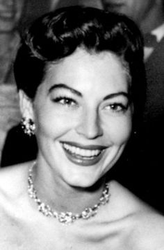 Ava Gardner at the premiere of Show Boat, 1951