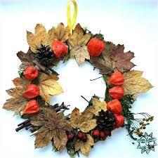 Výsledek obrázku pro podzimní tvoření z přírodnin