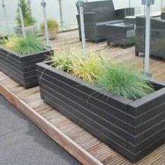 Bolighaveshop → Online havecenter med kvalitet til dine planter Plant Box, Outdoor Furniture, Outdoor Decor, Outdoor Storage, Teak, Terrace, Planters, Diy, Boxes