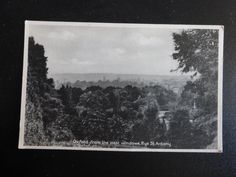 Postcard: Oxford from the west windows of Rye St. Anthony, Oxfordshire | eBay
