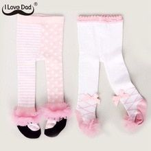 Buy Lovely Spring Baby Tights Cotton Cute Lace Bows Baby Girl Tights Clothes Winter Newborn 0-24M Girls Pantyhose Menina Collant at www.babyliscious.com! Free shipping to 185 countries. 21 days money back guarantee. Baby Girl Tights, Baby Socks, Baby Girl Newborn, Winter Newborn, Baby Winter, Winter Tights, Dad Baby, Lace Bows, Thrift Fashion