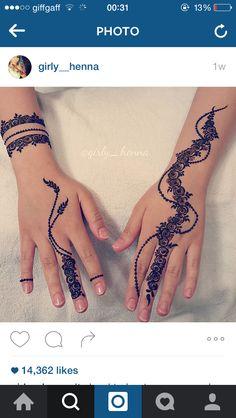 Unique Modern Henna Designs, Latest Mehndi Designs, Bridal Mehndi Designs, Simple Mehndi Designs, Henna Mehndi, Henna Art, Hand Henna, Unique Henna, Simple Henna
