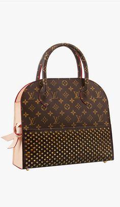 Christian Louboutin for Louis Vuitton! I need this bag!!