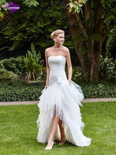 Robe de mariée Rafale, robe de mariée tendance, robe de mariage mouchoirs de…