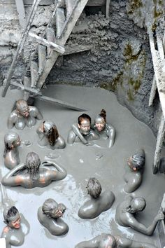 Cartagena, Colombia has so much to offer including a mud bath in a volcano!