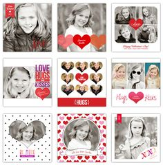 Crafting Rebellion: Web Finds: Print Your Own Valentine's Photo Cards- Free Templates