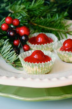 Mini Cherry Cheesecakes by How To: Simplify, via Flickr