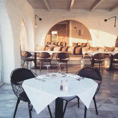 Restaurant, Poseidon Resort & Spa, Paros, Greece