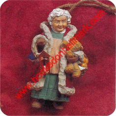 1996 Folk Art Mrs Claus