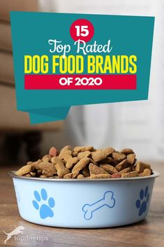 We've considered tons of criteria for this 2020 update on top dog food brands and found 15 best dry dog foods (grain free and well-balanced options). Best Rated Dog Food, Best Dry Dog Food, Wet Dog Food, Top Dog Food Brands, Top Dog Foods, Coconut Oil For Dogs, What Kind Of Dog, Food Branding, Natural Dog Food