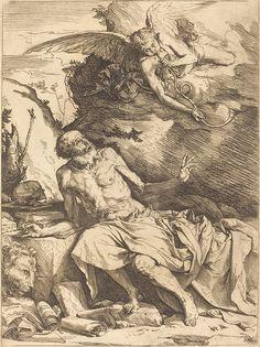 "tierradentro: ""Saint Jerome Hearing the Trumpet of the Last Judgement"", c.1621, Jusepe de Ribera."