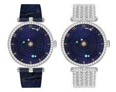 The Van Cleef & Arpels Lady Arpels Planetarium #watch #watchtime