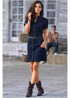 #denim #dress #bonprix
