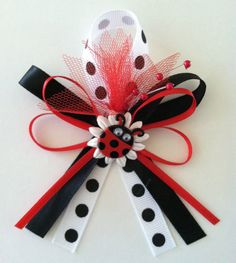 Lady Bug Baby Shower Favors by littlecreationz on Etsy, $1.25