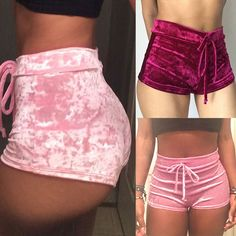 Details about Women's Summer Fashion for Ladies Elastic Crushed Satin High Rise Hot Pants Short Bottoms - Regular - Shorts Teen Fashion Outfits, Swag Outfits, Girl Outfits, Cute Lazy Outfits, Short Outfits, Hot Pants, Women's Pants, Lingerie Outfits, Women Lingerie