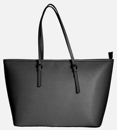 741325c0e1f Grijze shopper tas van leer De binnenzijde heeft 2 vakken waarvan 1 is af  te sluiten