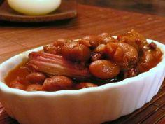 Bacon (met) bonen