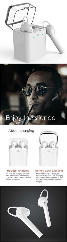 Bluetooth Headphone Sport Earpods Wireless Headset with Microphone. Fits into workout and gym clothes. Great for running without tangles! Fits well into workout and gym clothes. Great gift products for android Samsung Galaxy, LG, Sony, Windows 10, laptop, Macbook and Apple iPhone 7 users, men and women and those who are active in yoga health and fitness and travel. Take music anywhere, packs easily in purses, luggages, backpacks and travel bags. #Technology