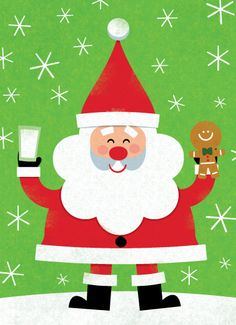 Santa by Steve Mack