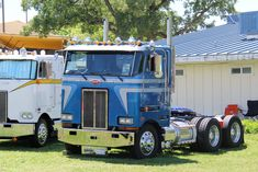 1990 Peterbilt 362 cabover at ATHS Central CA Chapter Truck Show in Plymouth CA - April 30, 2016