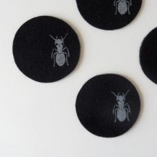Felt coasters by Design Pylsy