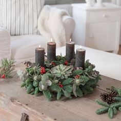 DIY instructions for beginners: tying an advent wreath (with eucalyptus) DIY in. : DIY instructions for beginners: tying an advent wreath (with eucalyptus) DIY instructions for beginners: tying an advent wreath (with eucalyptus) Christmas Wreaths, Xmas, Advent Wreath, Girls Dream, Woodworking Shop, Table Decorations, Photo And Video, Holiday Decor, Instagram